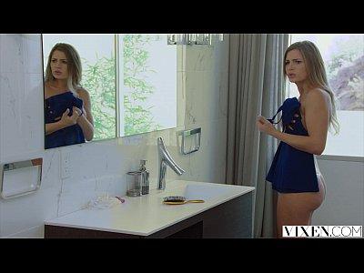 VIXEN Hot Stepsister has revenge sex with stepbrother