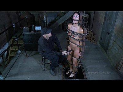 Amateur male in predicament bondage video truly