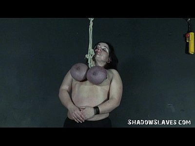 Andreas mature breast bondage suspension 8