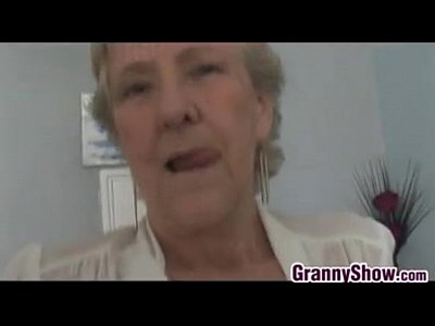 Sucking her grandmothers clitoris