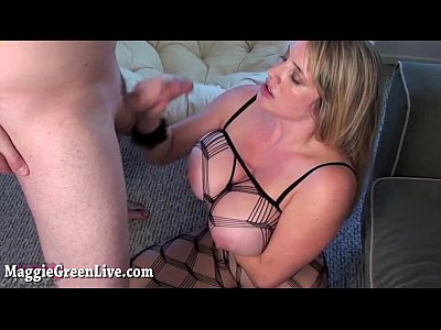 All Natural Busty Babe Maggie Green Gets Fucked Hard in Body Stocking