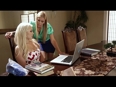 Lesbians Stockings movie: Do you touch all your clients like this? - Alexis Fawx, Kylie Page