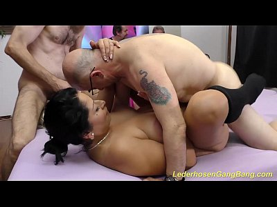 Anal Bukkake Deepthroat video: crazy german amateur groupsex orgy