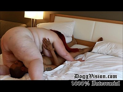 Amateur Interracial Bbw video: White SSBBW Anal Wife Skinny Black Man