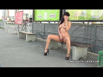 Flashing Boobs Public video: Fun nude on the street