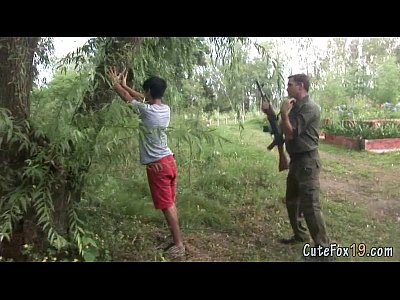 Seco Gay Twink fox gets searched by a patrolman