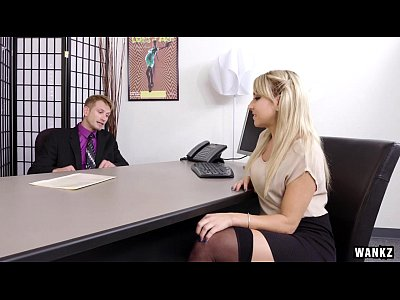 Tits Teen Blowjob video: Juicy Ass Blond Secretary Valerie Exploited By Her Boss