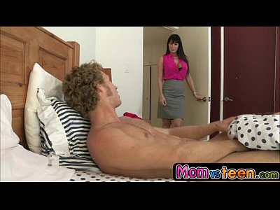 Milf takes advantage of son s girlfriend