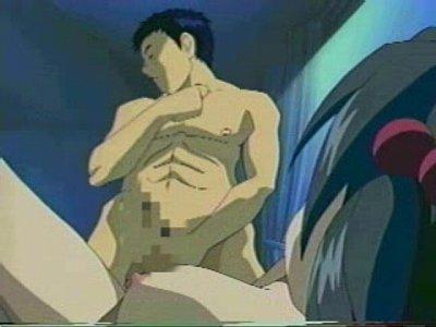 【エロアニメ】可愛らしい巨乳ツインテール娘にだいしゅきホールドされながらイチャイチャエッチ