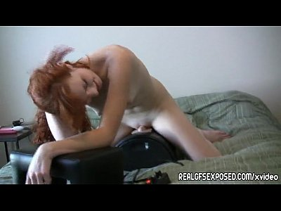Casey a1 redhead meets the sybian