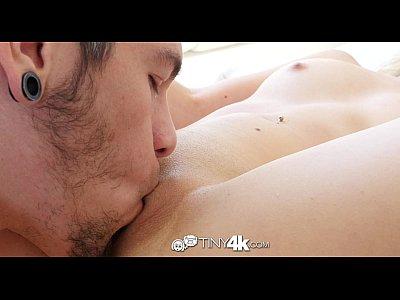 Tiny4K - Short blonde girl Amy Summers shake her wet ass