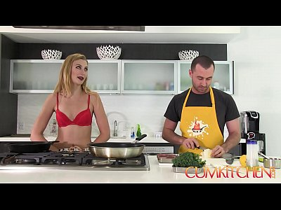 Facial Kitchen Swallow video: CUM KITCHEN: Tall Blonde Babe Alexa Grace Gets her Pussy wrecked in the Kitchen