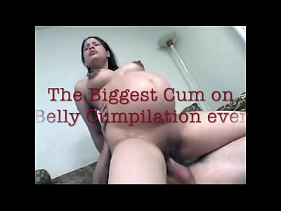 Pregnant Cumshot Cumpilation video: Pregnant Cum on Belly Cumpilation
