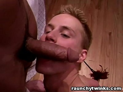 Aroused Twinks Enjoy a BJ