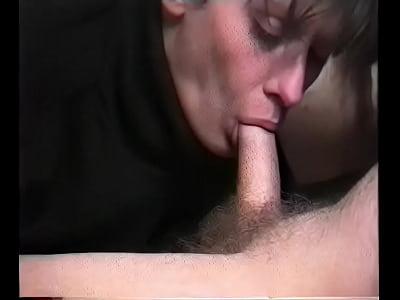 JAY Mom sucks sleeping sons dick anal hero