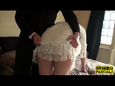 Bdsm Spanking Facial video: British bdsm sub whipped and spanked
