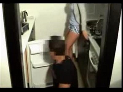 Couple Blowjob Kitchen video: Amatuer porn - 666camcuties.com