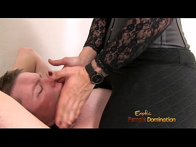 Bdsm Femdom video: Mistress Dominating A Loser With Her Big Butt
