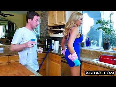 Mujer Bank briana sex video
