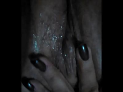 fingering zoomed wet pussy ?
