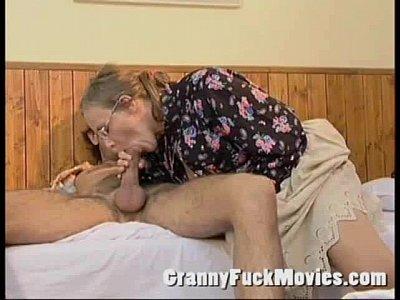 Granny blowjob xnxx