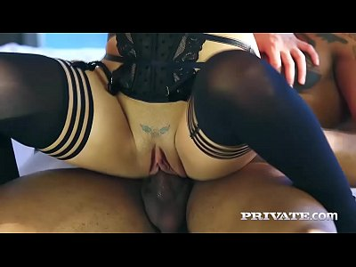 Blonde Facial Milf video: Private.com - First Interracial Experience for MILF Amber Deen