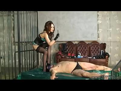 日本語女王様キラアナル拳と顔面騎乗