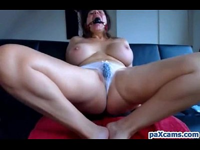 Amateur Masturbation Tits video: German Babe With Huge Tits Cums Hard Live on Webcam