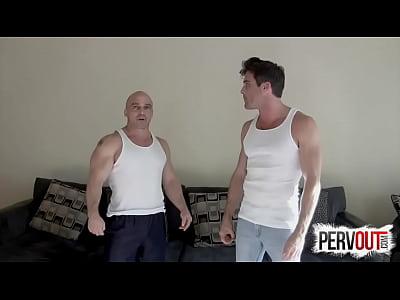 Pono Gay Jerk to tony dinozzo and lance hart feet joi male feet