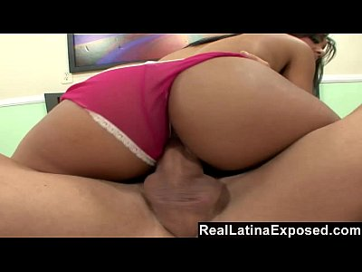Bigdick Bigtits Bubblebutt video: RealLatinaExposed - Busty Latina Babe Gets Plowed