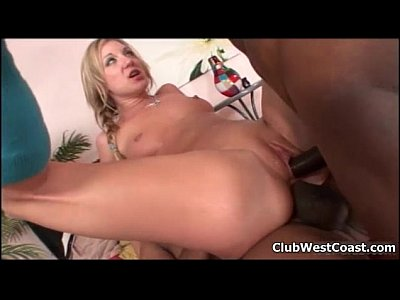 Horny blonde gets her ass fucked hard