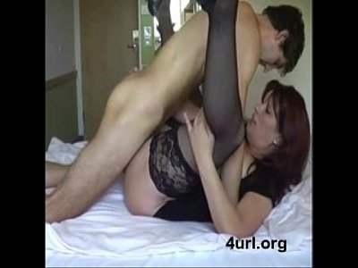 Son mom force massage