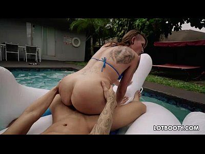 Charley hart gets fucked at the pool 10