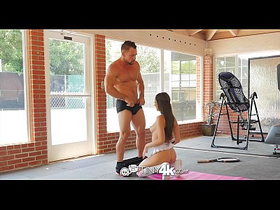Sex Blowjob Brunette video: Tiny4K - Tennis student Lily Adams is fucked by her instructor