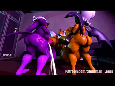 Dick Cum Futanari video: Rouge VS Wave BCM Big Cock Macht Full Macth