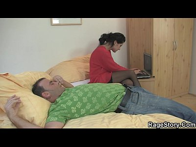 Angry sex with his cheating bitch