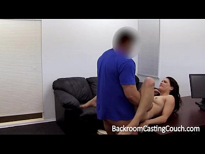 Surprise Nympho Anal Casting