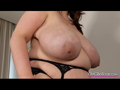 Tits Boobs Wife video: Playing with ex girlfriend's massive tits