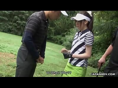 ゴルフすることができます楽しいときクラブ取得吸引