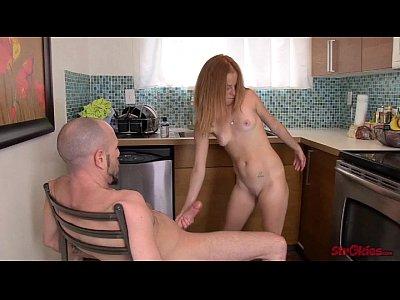 Alyssa hart red head glory hole sucker - 3 part 6