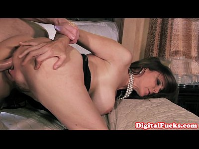 Bigtits Blowjob Classy video: Glamour milf doggystyled and facialized