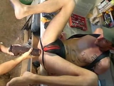 Gay Dildo Anal Play