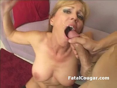 cougar fuck swedish cumshot