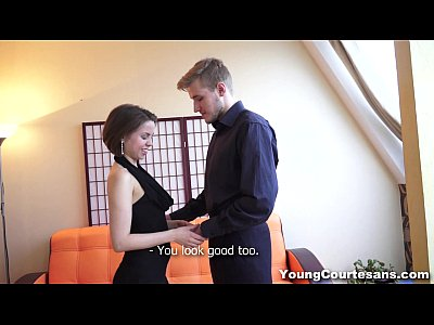 Young Courtesans - Teen courtesan knows her job