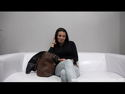 10 min porn Super Hot Brunette at Czech Casting