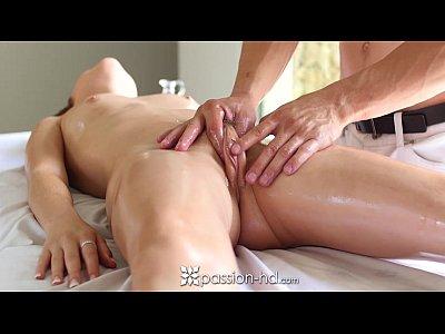 Passion-HD - Dakota Skye tiny pussy oiled and massaged