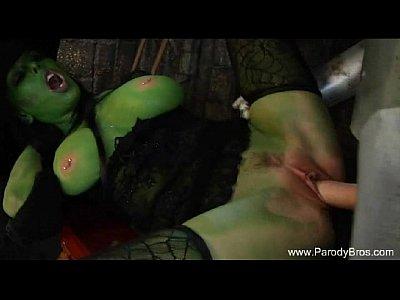 Секс с ведьмой на Хэллоуин