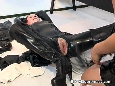 latex  bdsm milf erotic massage