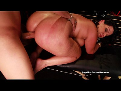 Big Titted Angelina Castro Fucks & Squirts in a Sex Store