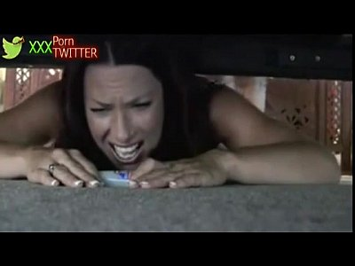 step mom stuck under bed at HornBunny - Watch f...